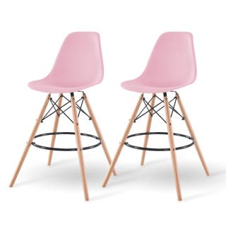 Pink Counter Amp Bar Stools For Less Overstock Com