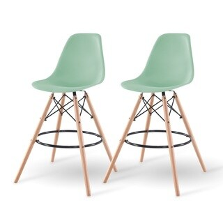 IRIS Plastic Shell Bar Stool (Pack of 2)