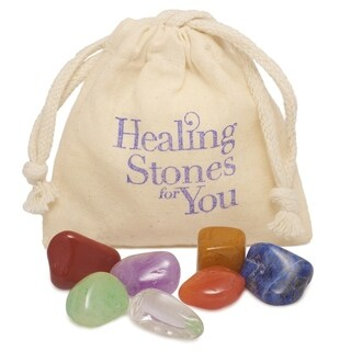 Healing Stones for You 7 Stone Basic Chakra Balance Set - (USA)