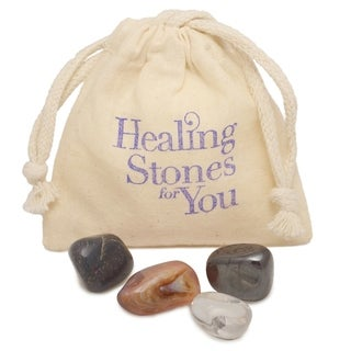 Healing Stones for You 'Quit Smoking' Intention Stone Set (USA)