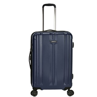 Traveler's Choice La Serena 26-inch Hardside Spinner Upright Suitcase (Option: Navy)