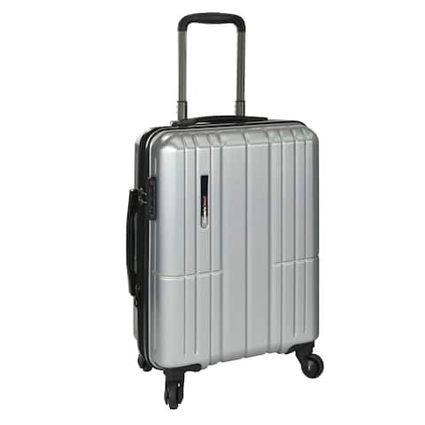 Traveler's Choice Wellington 21-inch Hardside Carry On Spinner Suitcase
