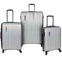 Traveler's Choice Wellington 3-Piece Hardside Spinner Luggage Set