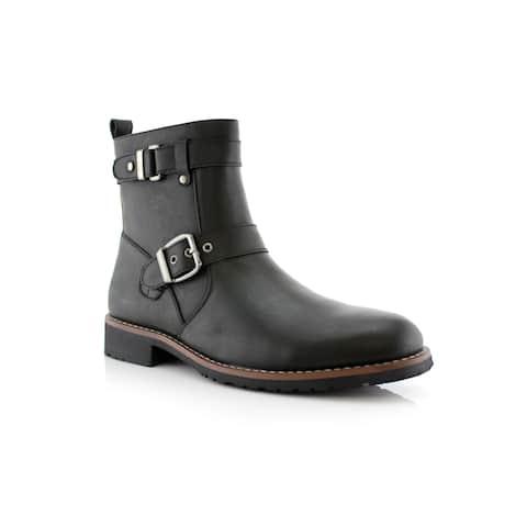 Polar Fox Wyatt MPX608005 Men's Dress Boots For Work or Casual Wear