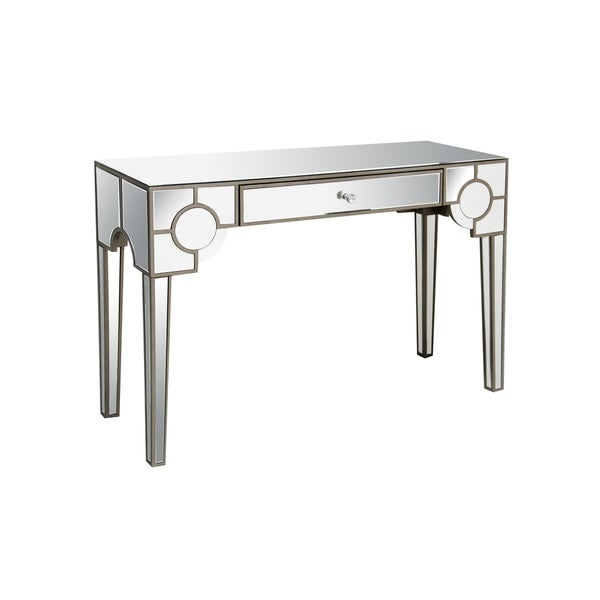 Shop Acme Furniture Hanne Mirrored Console Table