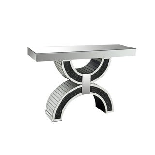 Acme Furniture Noor Mirrored Console Table