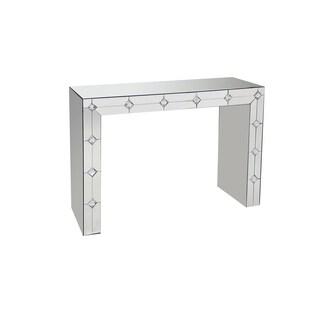 Acme Furniture Hessa Mirrored Glass Console Table