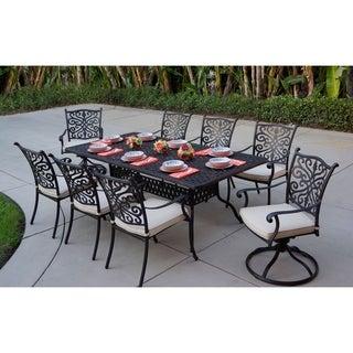Casablanca 9-Piece Dining Set, 42'' X 84'' Rectangular,Desert Bronze - Antique Bronze