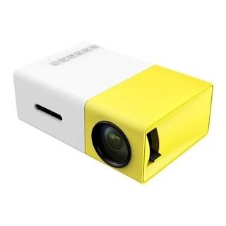 Portable Mini LED Projector Cinema Theater PC&Laptop USB/SD/AV/HDMI Input