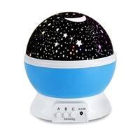 Romantic Rotating Spin Night Light for Children Kids in Bedroom