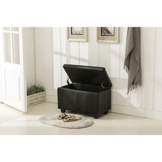Porthos Home Upholstered Arielle Storage Bench
