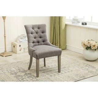 Porthos Home Eliza Upholstered Nailhead Trim Chair (Set of 2) (2 options available)