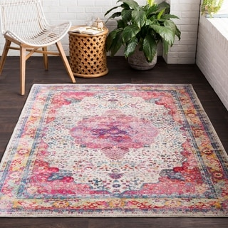 """Guileforth Classic Distressed Area Rug (2'7"""" x 7'6"""")"""