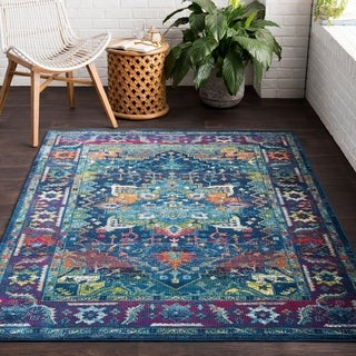 "Ocseptia Classic Traditional Area Rug - 2'7"" x 7'6"" Runner"