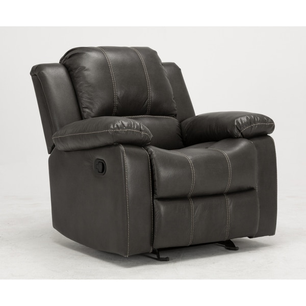 Clayton Charcoal Recliner by Greyson Living