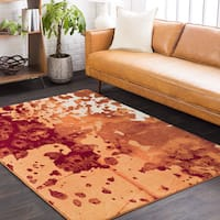 Palm Canyon Mel Abstract Area Rug - 7'6 x 10'6