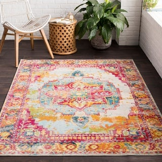 Cloudlily Colorful Classic Area Rug (2'7 x 7'6)