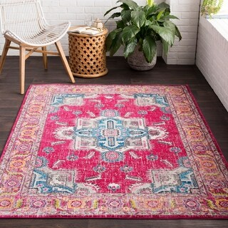 "Vapouria Classic Traditional Area Rug - 2'7"" x 7'6"" Runner"