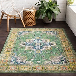 """Vapouria Classic Traditional Area Rug - 2'7"""" x 7'6"""" Runner"""