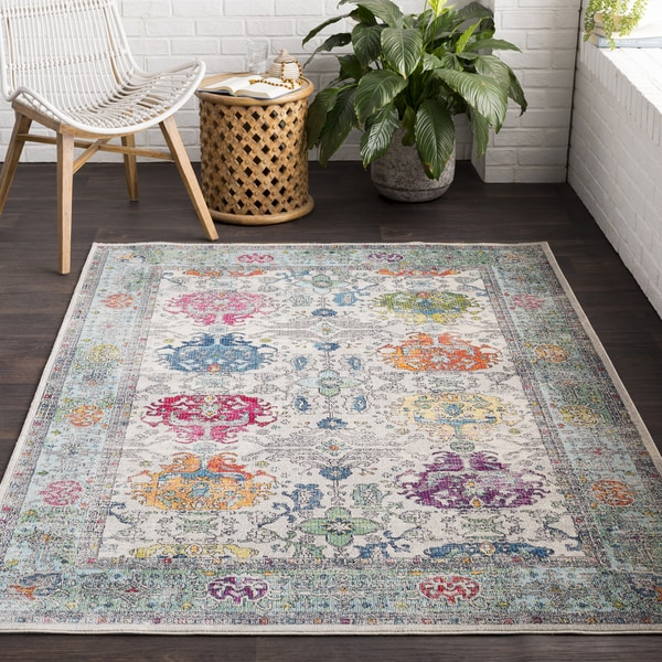Bonnhan Traditional Oriental Area Rug - 2' x 3'