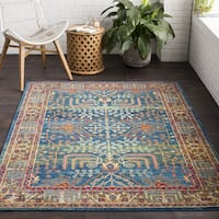 The Curated Nomad Alemany Classic Oriental Area Rug - 7'10 x 10'3