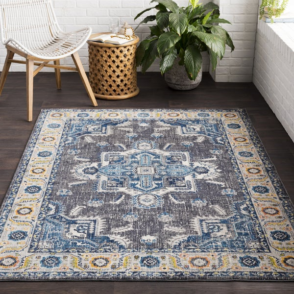 """Vapouria Classic Traditional Area Rug (7'10 x 10'3) - 7'10"""" x 10'3"""""""