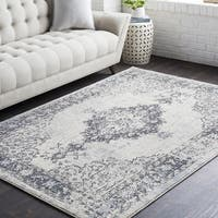 Gabonplaise Classic Traditional Taupe Rectangular Area Rug - 7'10 x 10'3