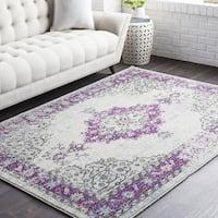 Gabonplaise Classic Purple Traditional Area Rug (7'10 x 10'3)