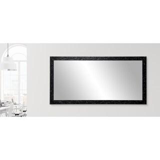 Multi Size BrandtWorks Swiss Chalet Floor Mirror - Black/Brown