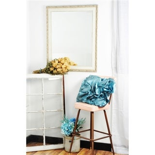 Multi Size BrandtWorks Vintage English Cream Wall Mirror - Antique White