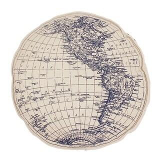 Round Globe Printed on Daze Kids Pillow