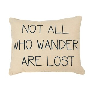 Natural Willow World Wander Reversible Printed Kids Pillow