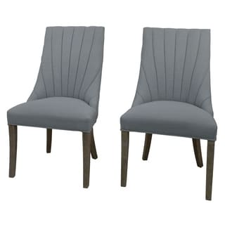 Cynthis Linen Side Chair (Set of 2)