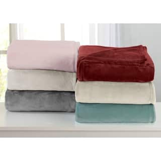 Home Fashions Designs Portland Collection Ultra Velvet Plush Bed Blanket|https://ak1.ostkcdn.com/images/products/17675213/P23884176.jpg?impolicy=medium