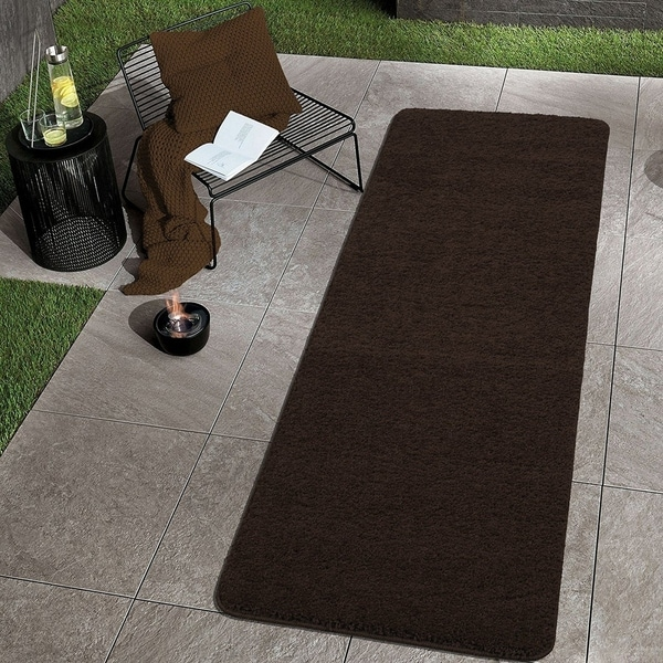 Sweethome Stores Luxury Collection Soft Non-Slip Shag Runner Rug