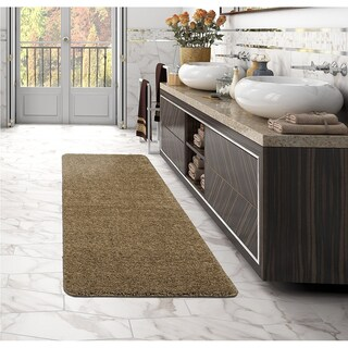 Sweethome Stores Luxury Collection Soft Non-Slip Shag Runner Rug, (2' X 6') - 2'2 x 6'