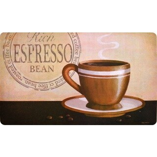 "Fashion Comfort Anti-Fatigue Kitchen Mats Rich Espresso (18"" x 30"") (Set of 2)"