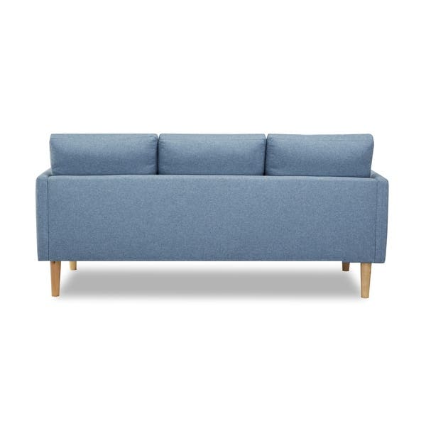 Sensational Shop Fernley Chambray Reversible Sectional Sofa Free Bralicious Painted Fabric Chair Ideas Braliciousco