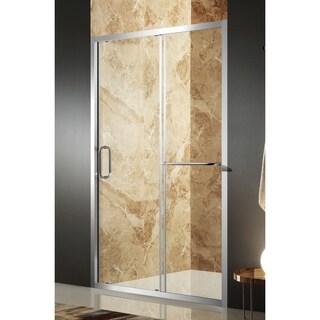 ANZZI Regent 48 x 72 in. Framed Sliding Shower Door in Polished Chrome