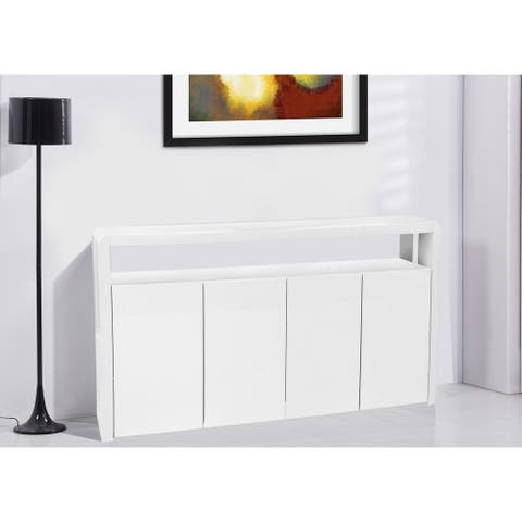 Best Quality Furniture 4-door Lacquer Cabinet