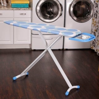 Euro Arch T-Leg Ironing Board with Retractable Iron Rest