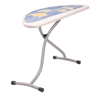 Ergon Halfmoon Steel Top Ironing Board, Wide Top