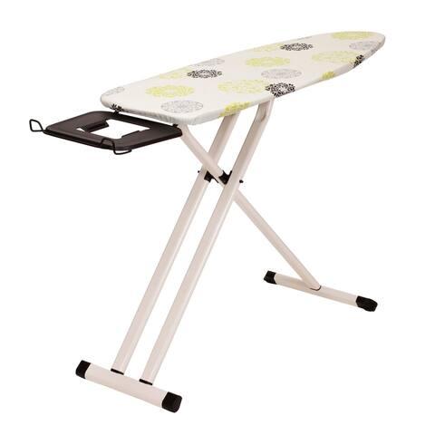 Perfect Steel Top Aluminum Leg Ironing Board, Wide Top