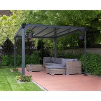 Palram Milano 3000 10 ft. x 10 ft. Hard Top Gazebo