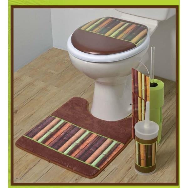 Miraculous Shop Java Bath Free Standing Printed Toilet Bowl Brush And Creativecarmelina Interior Chair Design Creativecarmelinacom