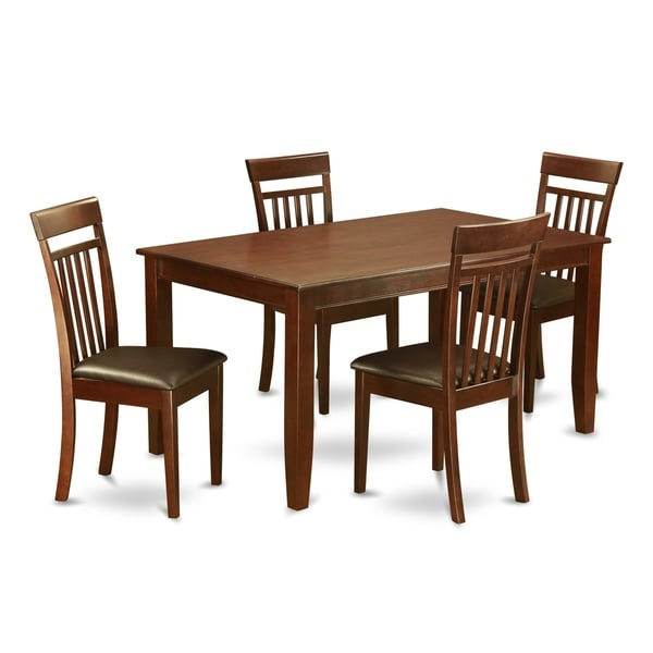 Shop Dining Room Sets: Shop DUCA5-MAH 5 Pc Dining Room Set For 4-Dining Table And