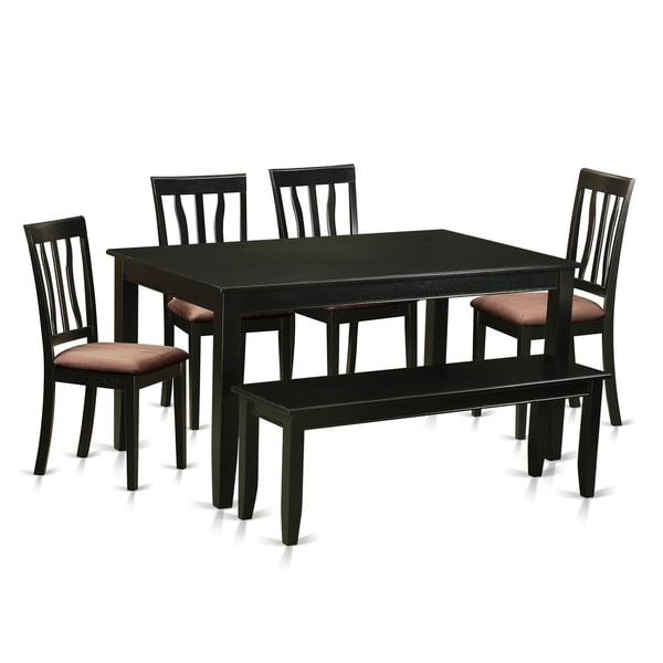 Free Kitchen Table And Chairs: Shop DUAN6-BLK 6 Pc Kitchen Set