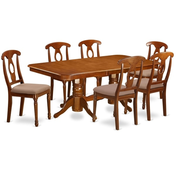52 Kitchen Tables And Chairs Sets 7 Pc Dining Room: Shop NANA7-SBR 7 Pc Dining Room Set For 6-rectangular