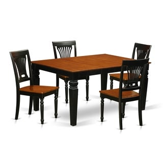 WEPL5-BCH  5 to 7 Pc Dinette set with a Table and 4 to 6 Wood Chairs