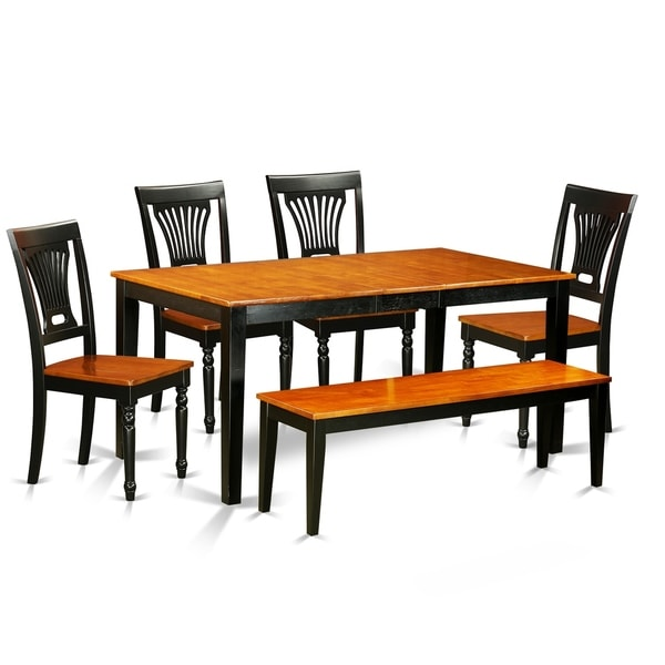 Shop NIPL6-W 6 PC Dining Set-Kitchen Tables And 4 Chairs